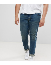Asos Design Plus Skinny Jeans In Vintage Dark Wash afbeelding