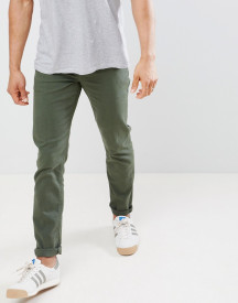 Asos Design Slim Jeans In Green afbeelding
