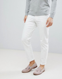 Asos Design Slim Jeans In White afbeelding