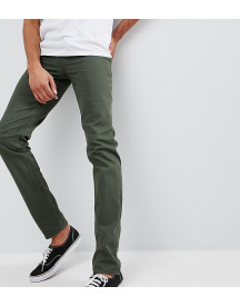 Asos Design Tall Slim Jeans In Green afbeelding