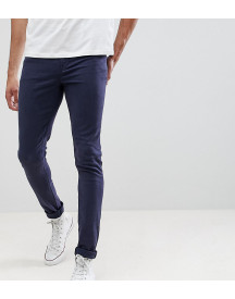 Asos Design Tall Super Skinny Jeans In Navy afbeelding