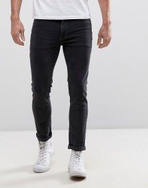 Asos Skinny Jeans In Washed Black afbeelding