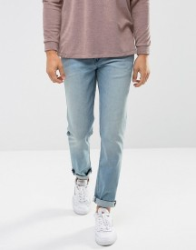 Asos Stretch Slim Jeans In Light Wash Blue afbeelding