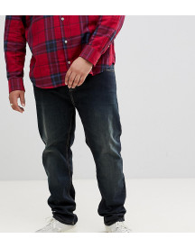 Badrhino Big Dirty Tint Jean In Tapered Fit afbeelding