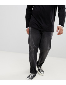 Badrhino Big Slim Fit Jean With Stretch In Black afbeelding