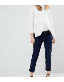 Bandia Maternity Over The Bump Straight Leg Jean With Removable Bump Band afbeelding