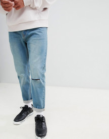 Bellfield Carrot Fit Jeans With Knee Rip afbeelding