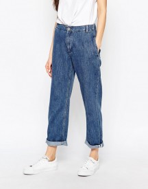 Bethnals Smith Relaxed Boyfriend Jeans With Rolled Hem afbeelding