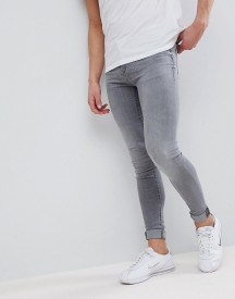 Blend Flurry Grey Wash Extreme Skinny Jeans afbeelding
