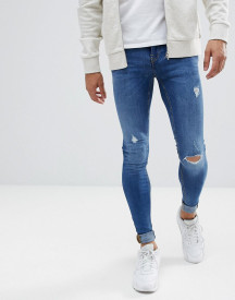 Blend Flurry Mid Wash Extreme Skinny Jeans afbeelding