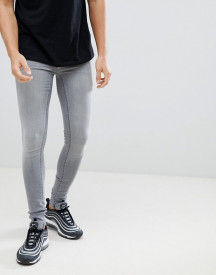 Blend Flurry Muscle Fit Jeans In Grey afbeelding