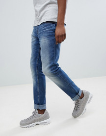 Blend Slim Fit Distressed Jeans Blue afbeelding