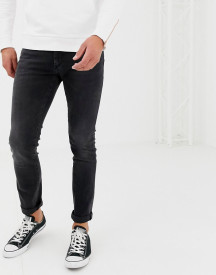 Boss Charlston Skinny Fit Jeans In Grey afbeelding