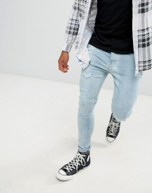 Brave Soul Skinny Fit Distressed Jeans afbeelding