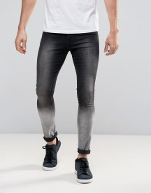 Brooklyn Supply Co Ombre Black To Grey Jeans afbeelding
