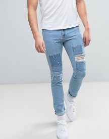 Brooklyn Supply Co Patchwork Jeans afbeelding