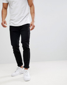 Burton Menswear Tapered Jeans In Black afbeelding