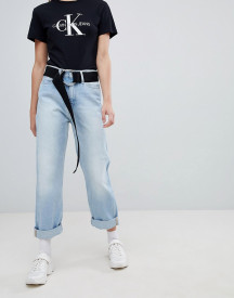 Calvin Klein Jeans Exclusive To Asos American Classic High Rise Straight Leg Jean afbeelding