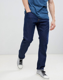 Calvin Klein Jeans Rinse Straight Jeans With Logo Back Patch afbeelding