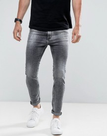 Calvin Klein Jeans Skinny Tapered Jeans With Splatter Print afbeelding