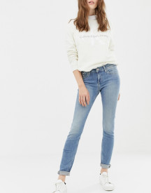 Calvin Klein Mid Rise Skinny Jeans afbeelding