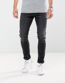Casual Friday Slim Fit Jeans In Washed Black afbeelding
