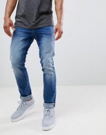 Cavalli Class Skinny Jeans In Indigo Wash afbeelding