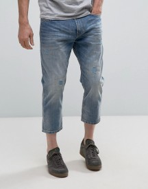 Celio Jeans In Cropped Tapered Fit With Patches afbeelding