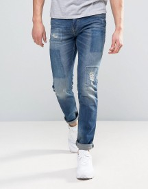 Celio Jeans In Slim Fit With Repair Patch Details afbeelding