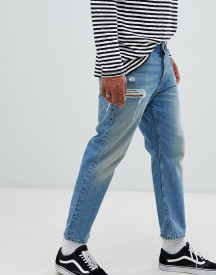 Cheap Monday 90s Fit Jeans In Blue afbeelding