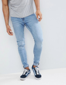 Cheap Monday Him Spray Jeans Stone Bleach Wash afbeelding