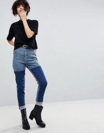 Cheap Monday Mom Jean With Colour Block Wash afbeelding