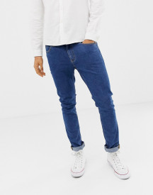 Cheap Monday Skinny Jeans In Blue afbeelding