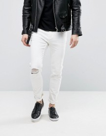 Cheap Monday Sonic Jeans Summer White afbeelding