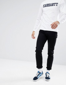 Cheap Monday Sonic Slim Jeans Deep Black afbeelding