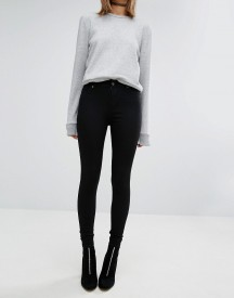 Cheap Monday Spray On High Waist Skinny Jeans afbeelding