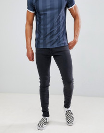 Cheap Monday Super Skinny Jeans In Black afbeelding