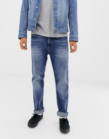 Cheap Monday Tapered Jeans In Blue afbeelding