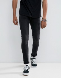Cheap Monday Tight Skinny Jeans In Black Haze afbeelding