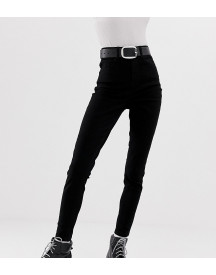 Collusion Skinny Jeans In Black afbeelding