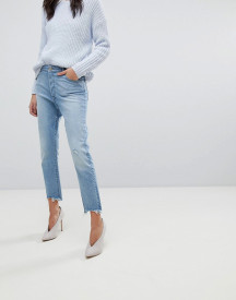 Dl1961 Bella Crop Vintage Look Slim Jean With Raw Hem afbeelding