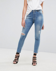 Dl1961 Bella Slim Fit Jean With Rips And Distressing afbeelding