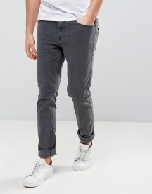 Dr Denim Clark Slim Jeans In Organic Cotton Mid Grey afbeelding