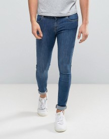 Dr Denim Dixy Muscle Fit Jeans Mid Blue afbeelding