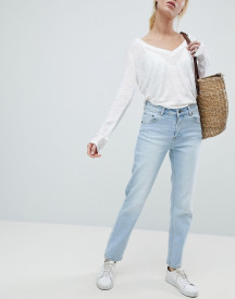 Dr Denim Edie Crop Mom Jean afbeelding