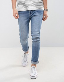 Dr Denim Leon Slim Light Stone Wash Jean afbeelding
