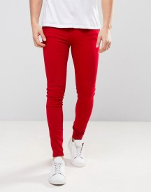 Dr Denim Lexy Extrem Muscle Fit Jean Vicious Red afbeelding