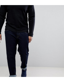 Duke King Size Tapered Fit Jeans In Indigo With Stretch afbeelding