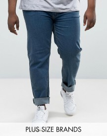 Duke Plus Jeans In Comfort Fit Blue Stonewash afbeelding