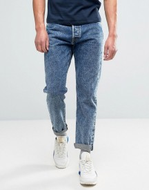 Edwin Ed-45 Loose Tapered Jeans Acid Wash Rainbow Selvedge afbeelding